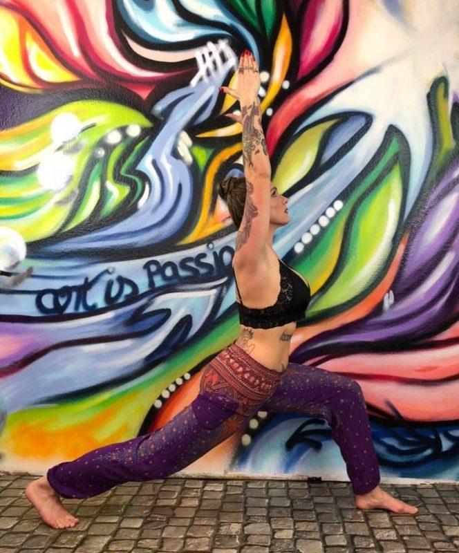 Yoga und Kunst